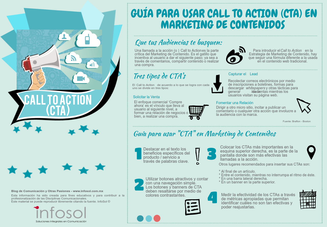 Guía para usar call to action en Marketing de Contenidos