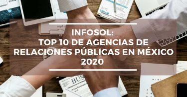 InfoSol se consolida en las Top 10 del Ranking de Agencias de Relaciones Públicas en México