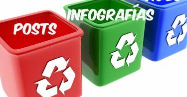 Maneras de reciclar contenido